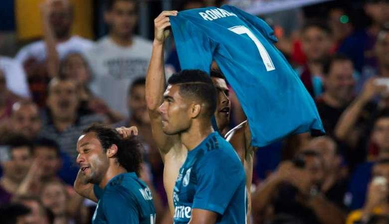 Ronaldo Tiru Perayaan Gol Messi Atas Saran Marcelo