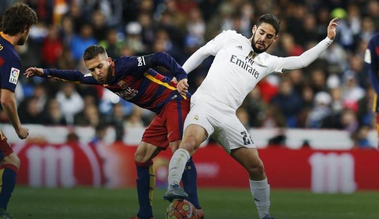 Jordi Alba Berharap Barcelona Merekrut Isco dari Real Madrid