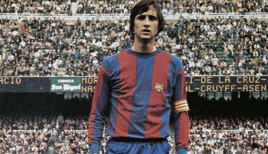 Barcelona Beri Penghormatan bagi Johan Cruyff