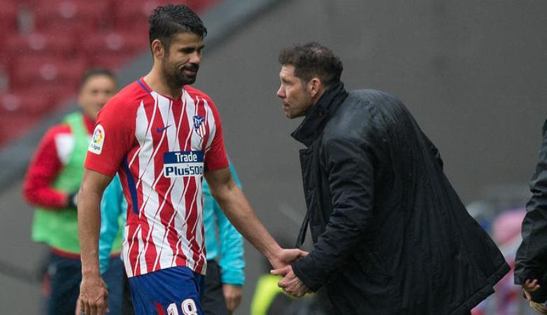 Diego Costa Dikartu Merah karena Terlalu Gembira