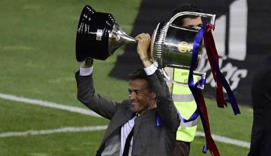 Luis Enrique Akhiri Musimnya dengan Piala Raja