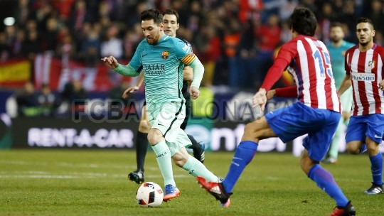 Barcelona Pijakan Satu Kakinya di Final Copa del Rey