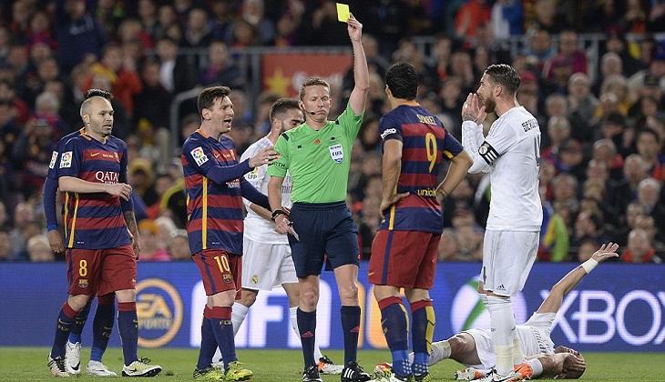 Kartu Kuning Disengaja Luiz Suarez