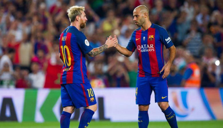 Mascherano Sebut Messi Lebih Besar daripada Klub