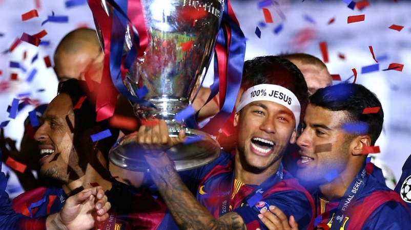 Neymar, Si Anak Pesta yang Religius