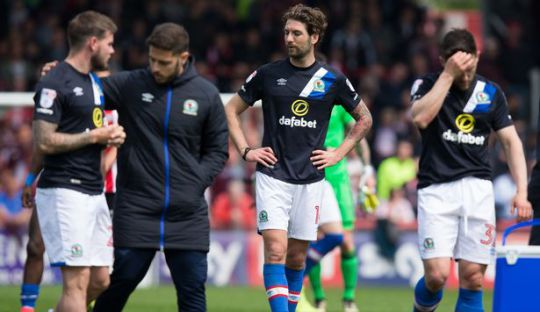 Blackburn Jadi Mantan Juara Liga Primer Pertama yang Degradasi ke Divisi Tiga