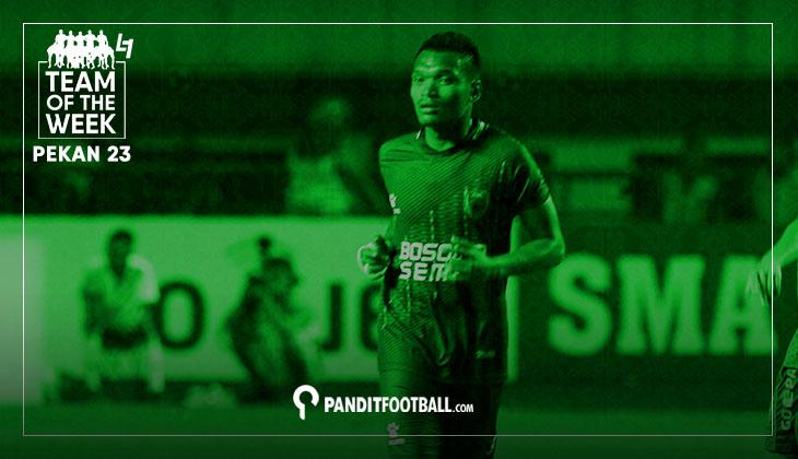 Team of the Week Pekan ke-23 Liga 1 2017 versi Panditfootball