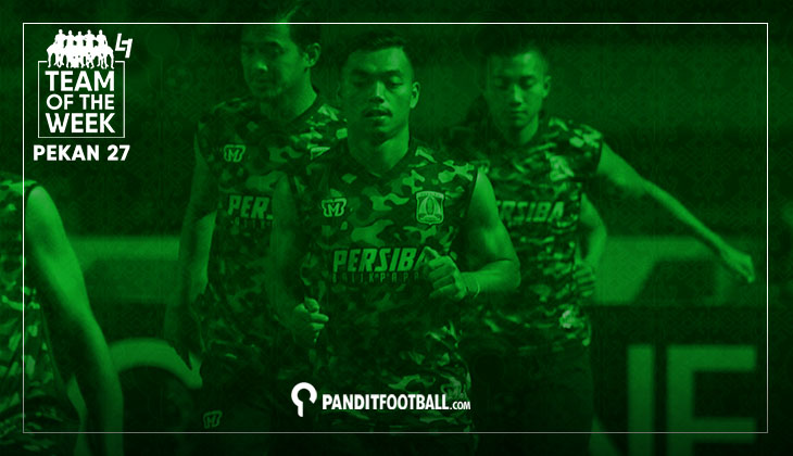 Team of the Week Pekan ke-27 Liga 1 2017 versi Panditfootball