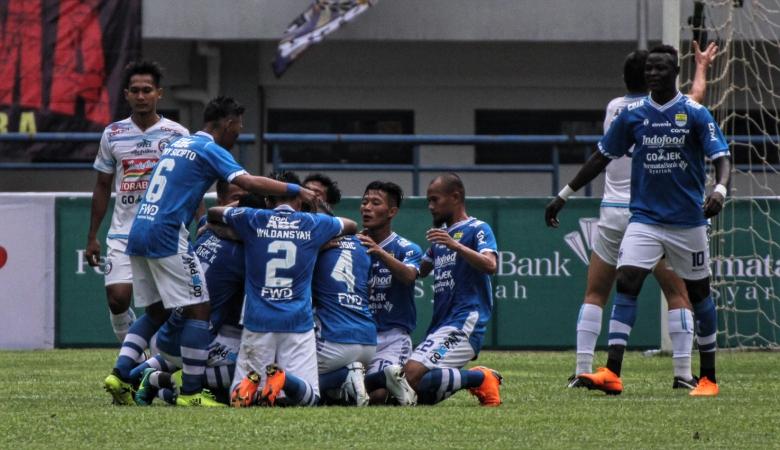 Hasil Pertandingan Persib Bandung vs Arema FC, Skor Akhir 2-1