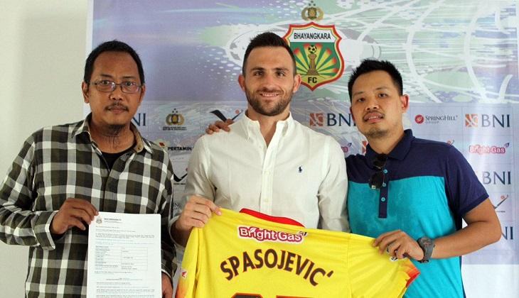 Spasojevic Dipanggil Milla untuk Jalani Laga Uji Tanding Timnas Indonesia