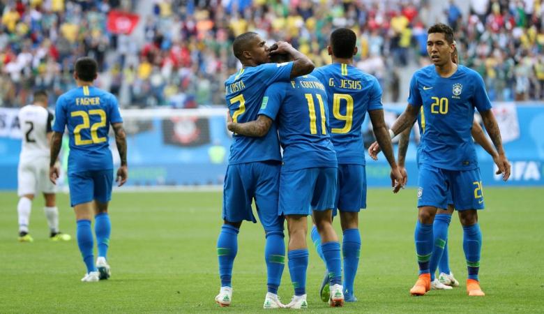 Brasil Diselamatkan Dua Gol Menit Akhir