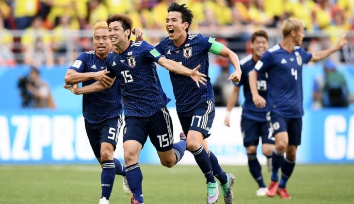 Kalahkan Kolombia, Jepang Cetak Sejarah Asia di Piala Dunia
