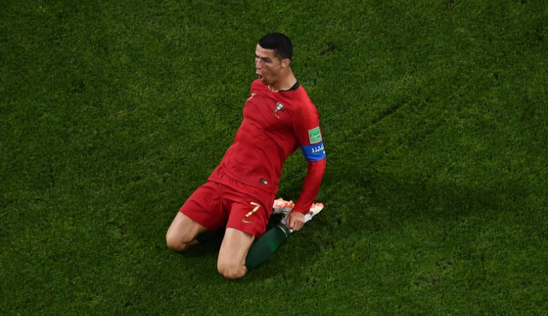 Pertunjukkan Cristiano Ronaldo di Sochi