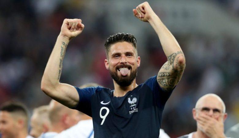 Peran Penting Giroud dalam Taktik Perancis