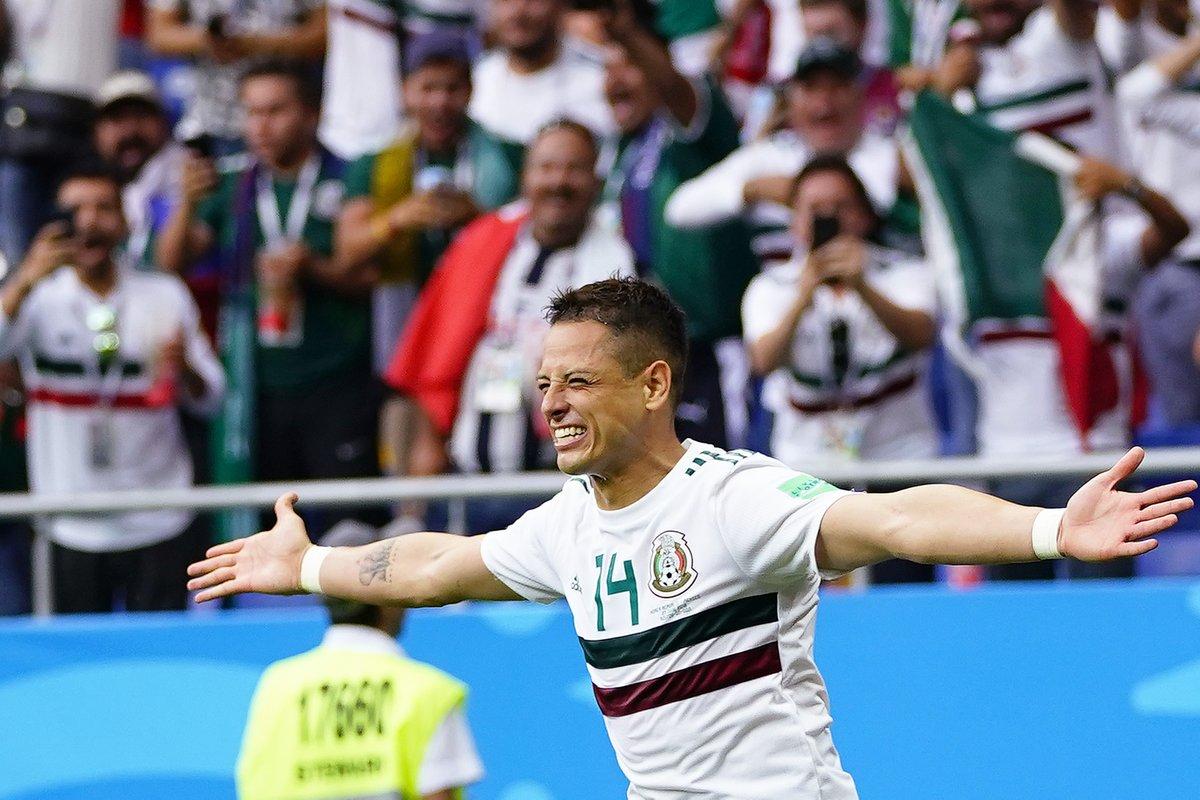 Meksiko Raih Kemenangan Kedua di Piala Dunia