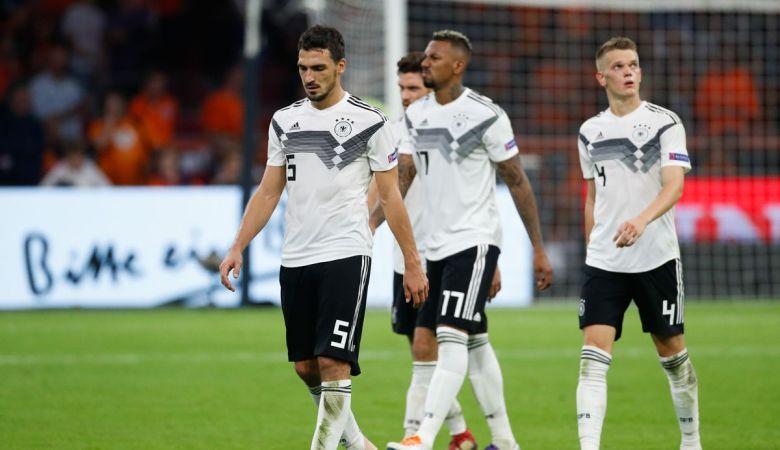 Jerman Dipastikan Degradasi ke UEFA Nations League B