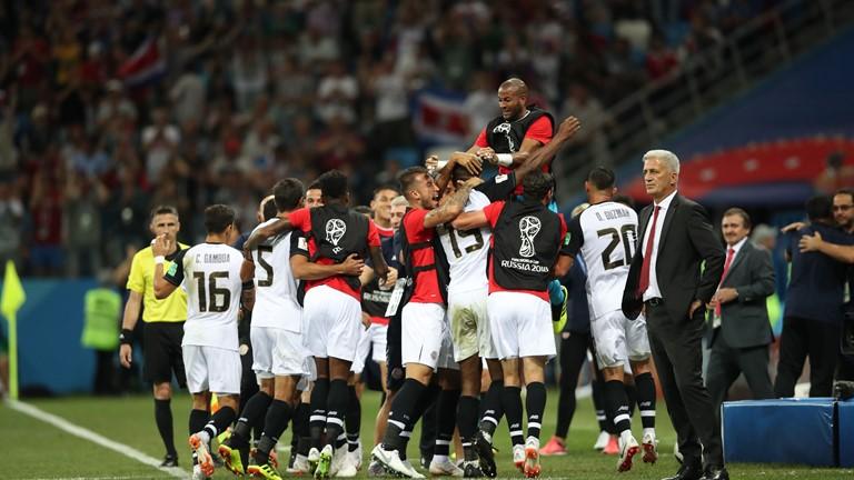 Gol Kecil yang Dirayakan dengan Besar oleh Kosta Rika