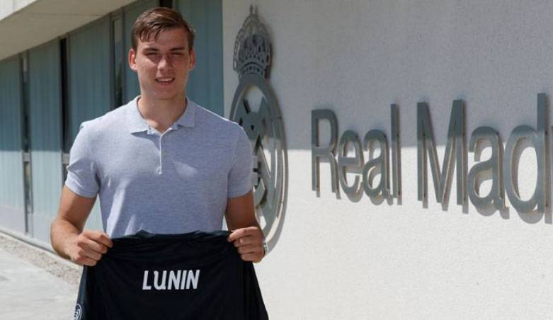 Real Madrid Memilih Andriy Lunin