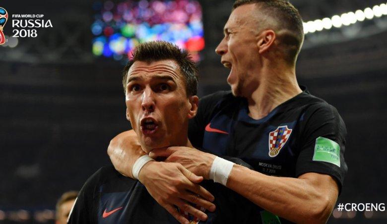 Pressing Kroasia Bikin Inggris Keok