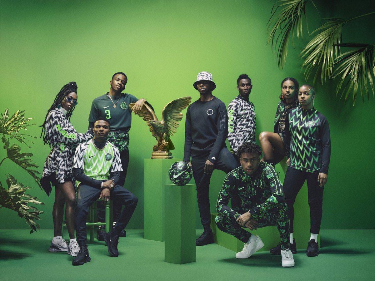Semangat Bangsa di Kostum Nigeria