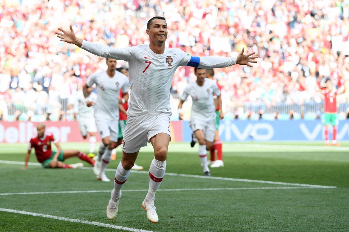 Tiga Pencapaian dalam Satu Gol Ronaldo