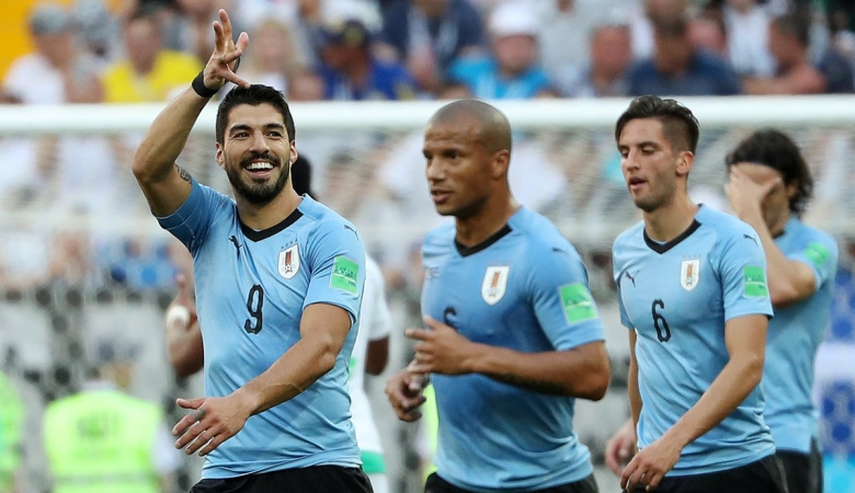 Uruguay dan Rusia Lolos ke 16 Besar