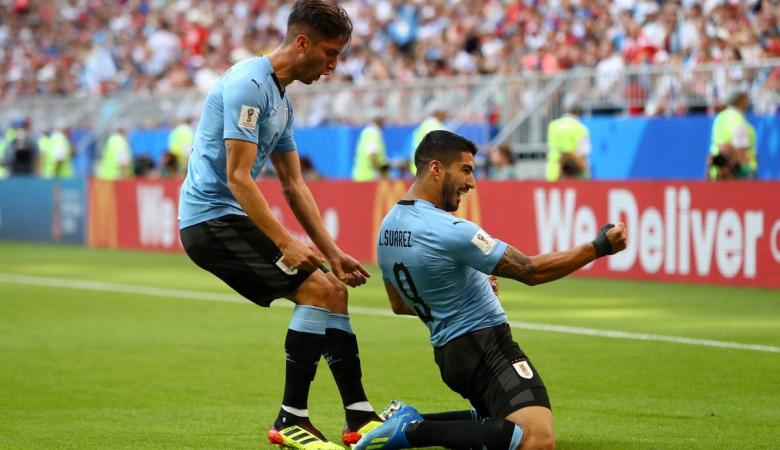 Uruguay Lolos Sempurna ke 16 Besar