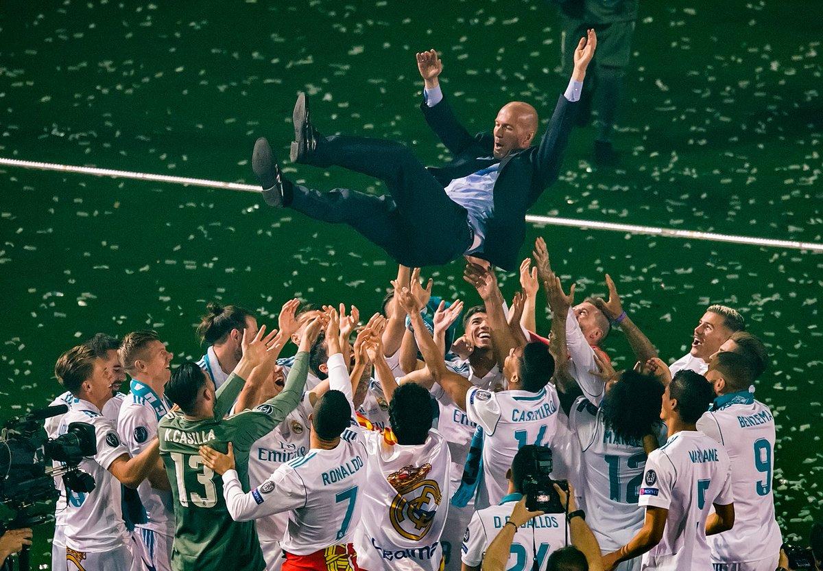 Zidane Mundur Karena Real Madrid Harus Berubah