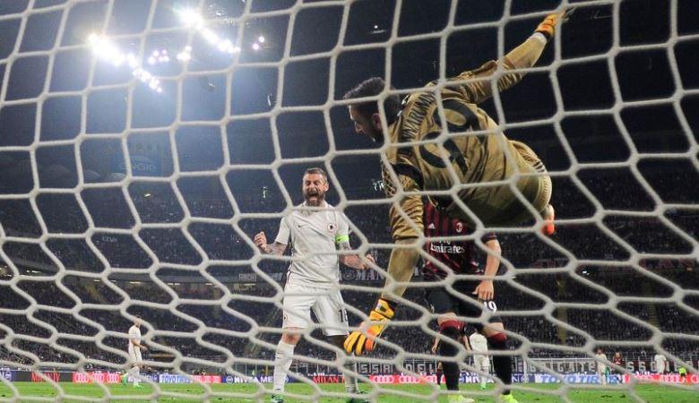 AS Roma Temukan Jarak Antar Lini AC Milan yang Bisa Dieksploitasi