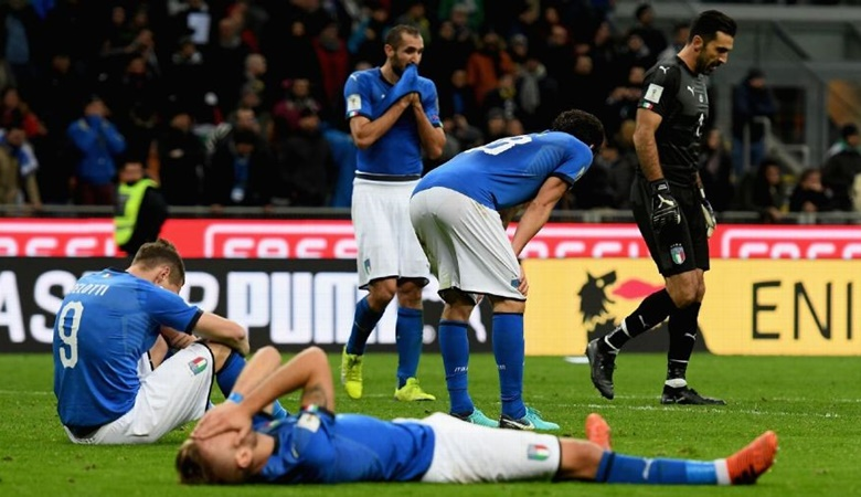 Ironi dalam Kegagalan Italia ke Piala Dunia 2018