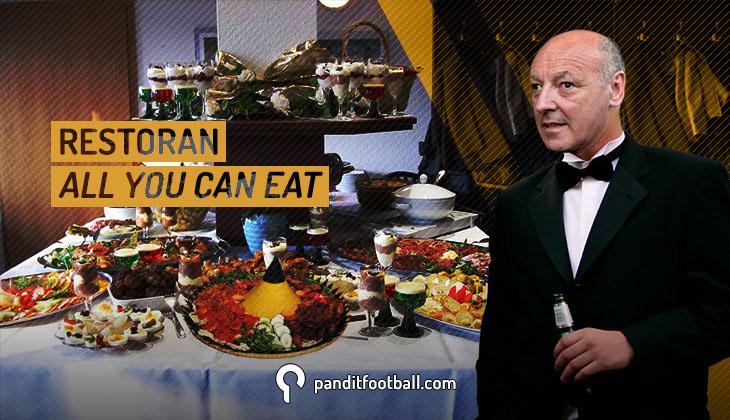 """Restoran """"All You Can Eat"""" dari Beppe Marotta untuk Juventus"""