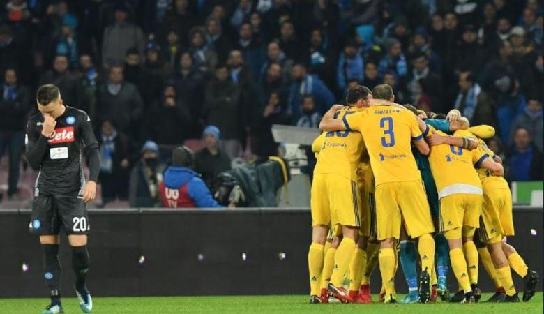 Garis Pertahanan Rendah Jadi Kunci Sukses Juve Tundukkan Napoli