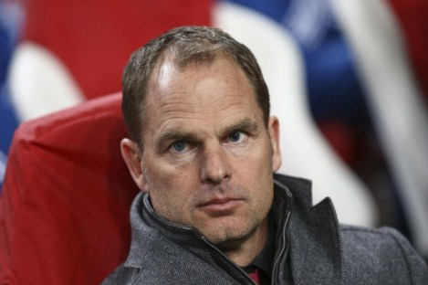 Frank de Boer Dipastikan Tak Akan Latih Leicester City