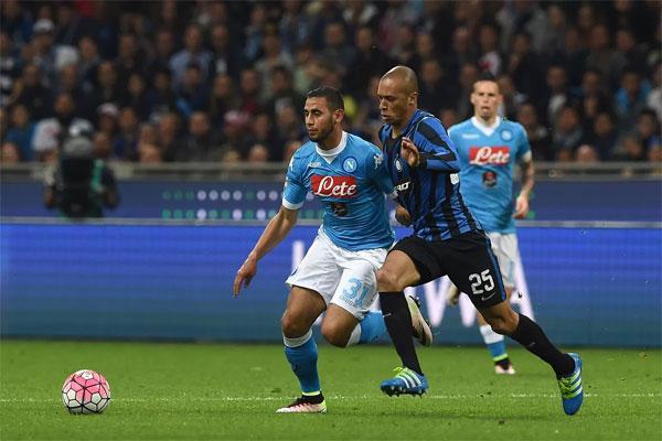 Upaya Lini Tengah Inter Milan untuk Hadapi Penguasaan Bola Napoli