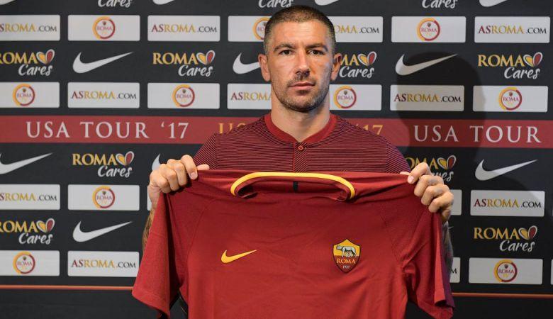 Roma Kembali Buat Video Unik untuk Transfer Kolarov