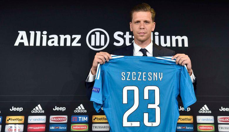 Wojciech Szczesny Resmi Berseragam Juventus