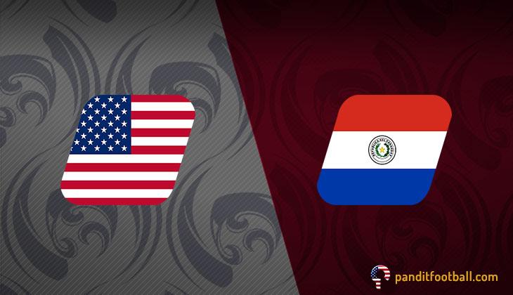 Bermain dengan 10 Orang, AS Singkirkan Paraguay dan Rebut Tiket ke Perempat Final