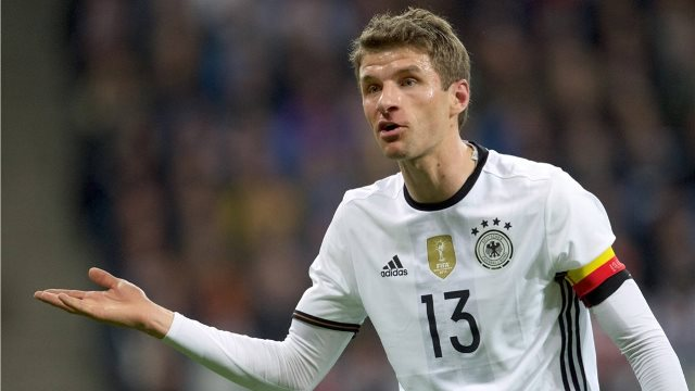 Thomas Mueller Masih Nihil Gol di Piala Eropa