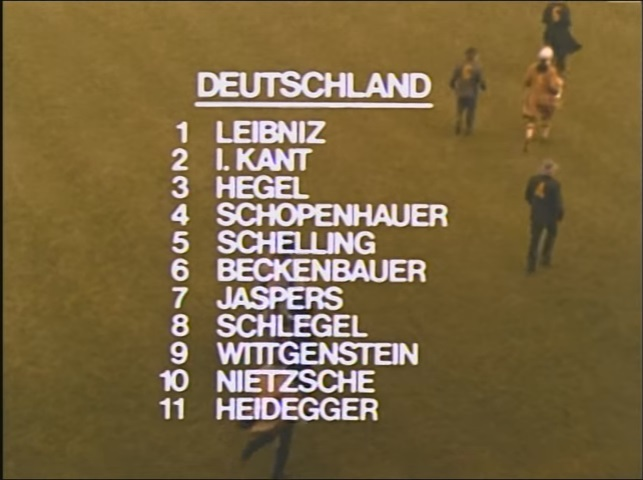 Susunan Pemain Jerman