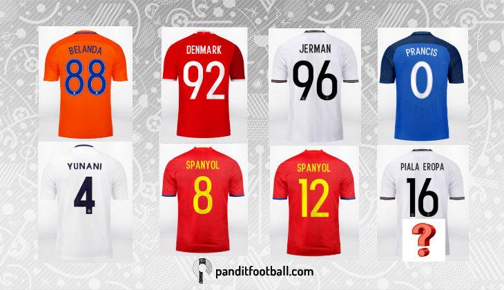 Meramal Juara Piala Eropa Berdasarkan Warna Seragam