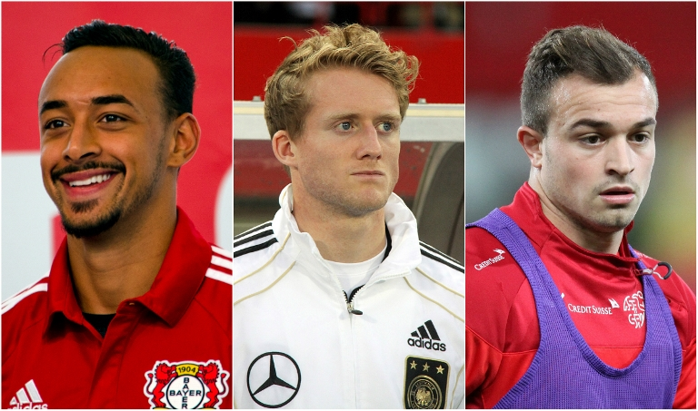 Dortmund di Antara Andre Schurrle, Xherdan Shaqiri, dan Karim Bellarabi