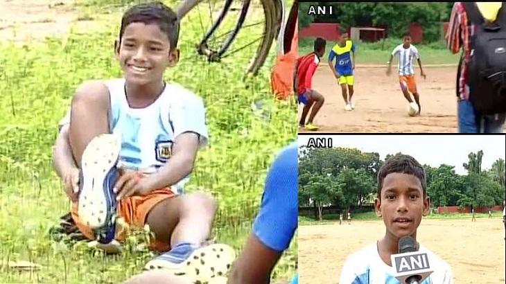 Impian Seorang Anak 11 Tahun dari India yang Terkabul