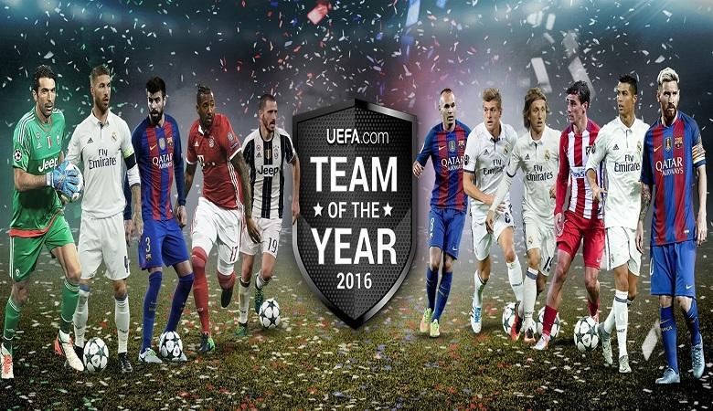 Sebelas Pemain Terbaik UEFA 2016