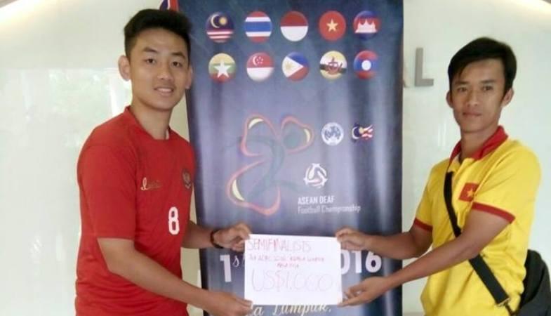 Meski Hadiah Semifinalis Tak Seberapa, Timnas Tunarungu Indonesia Tetap Rancang Masa Depan