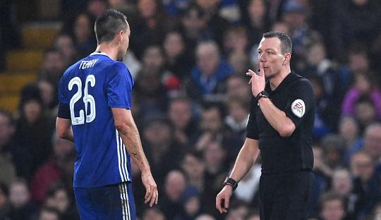 Kartu Merah John Terry Hiasi Kemenangan Telak Chelsea