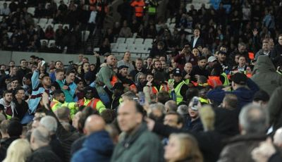 London Stadium, Arena Kerusuhan Baru Hooligan West Ham United