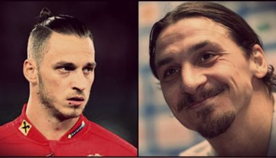 Saat Ibrahimovic Bertemu Sang Doppelgänger Secara Langsung