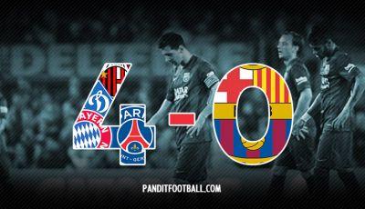 Barcelona dan Skor 4-0 yang Pernah Dialami