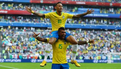 Tak Ada Coutinho, Neymar Pun Jadi