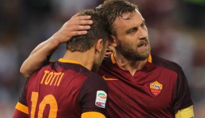 Kesenjangan Francesco Totti yang Bisa Dikejar Daniele De Rossi